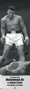 Muhammad Ali vs. Sonny Liston - плакат