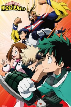 My Hero Academia - Heroes плакат