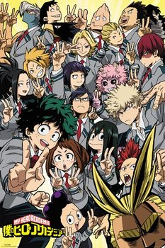 My Hero Academia - School Compilation плакат