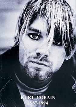 Nirvana - Kurt Cobain плакат