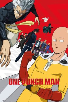 One Punch Man - Season 2 плакат
