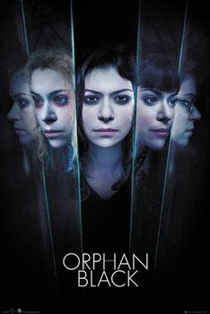 Orphan Black - Faces плакат
