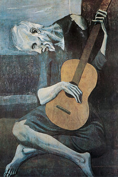 Pablo Picasso - Old Guitarist плакат