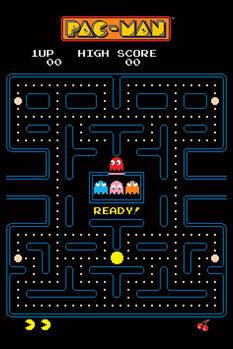 Pac-Man - Maze плакат