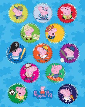Peppa Pig - George плакат
