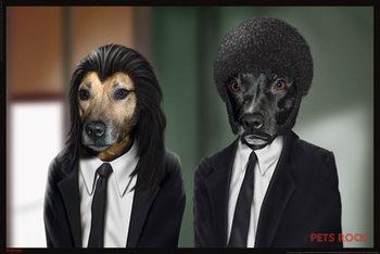 Pets rock - hitdogs плакат