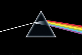 Pink Floyd - Dark Side of the Moon плакат
