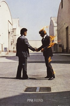 PINK FLOYD - wish you were here - плакат