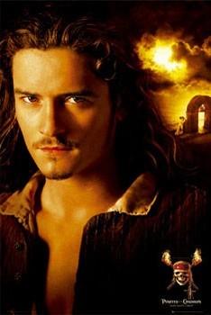 Pirates of Caribbean - Bloom плакат