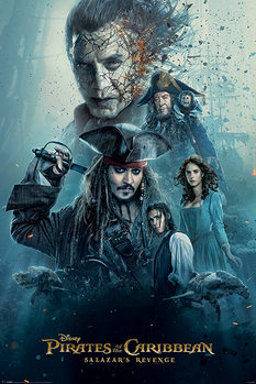 Pirates of the Caribbean - Burning - плакат