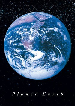 PLANET EARTH - плакат