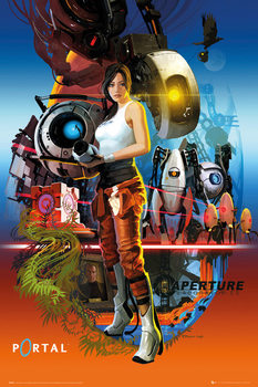 Portal - Aperture Laboratories плакат