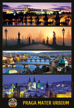 Prague – Prague mother - плакат