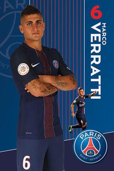 PSG Veratti 16 -17 - плакат