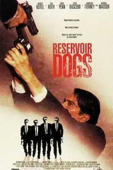 RESERVOIR DOGS - movie плакат