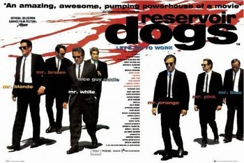 RESERVOIR DOGS - quad плакат