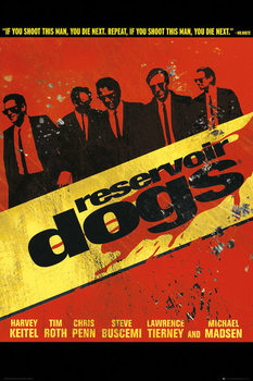 Reservoir Dogs - Walk плакат