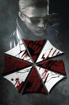 Resident Evil - Key Art плакат