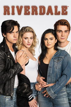 Riverdale - Bughead and Varchie плакат