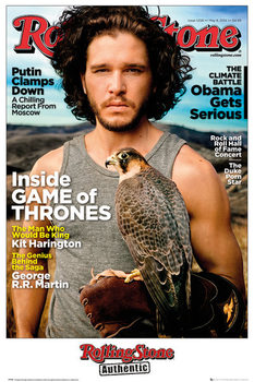 Rolling Stone - Game of Thrones Jon Stark плакат