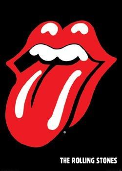 Rolling Stones - lips плакат