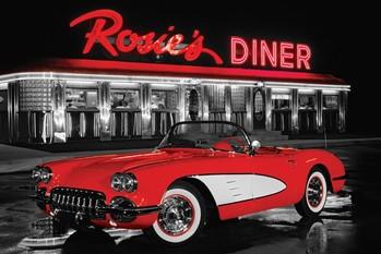 Rosie's diner - плакат