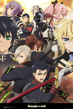 Seraph Of The End - Group плакат