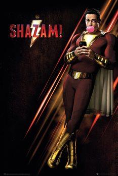 Shazam - One Sheet плакат