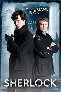 SHERLOCK - Door - плакат