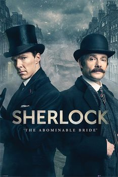 Sherlock - The Abominable Bride - плакат