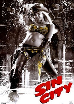 SIN CITY - Cowgirl плакат