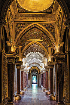 Sintra Palace - Portugal - плакат