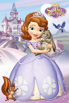Sofia the First - Characters плакат