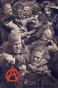 Sons of Anarchy - Fight плакат