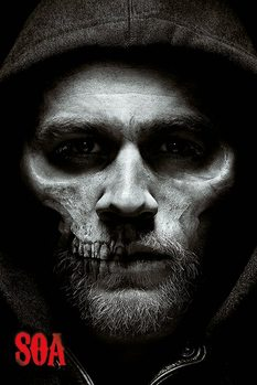 Sons of Anarchy - Jax Skull плакат