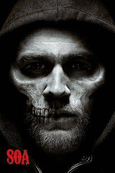 Sons of Anarchy - Jax Skull плакат