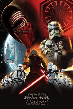 Star Wars Episode VII: The Force Awakens - First Order - плакат