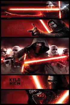 Star Wars Episode VII: The Force Awakens - Kylo Ren Panels - плакат