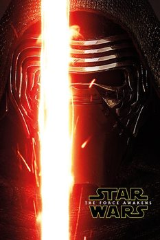 Star Wars Episode VII: The Force Awakens - Kylo Ren Teaser плакат