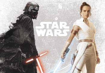 Star Wars - Kylo & Rey плакат