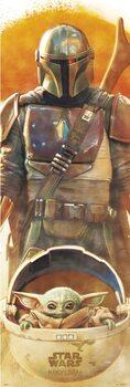 Star Wars: The Mandalorian плакат