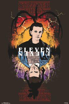 Stranger Things - Eleven плакат