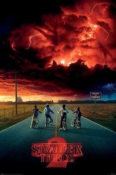 Stranger Things - Mind Flayer плакат