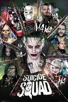 Suicide Squad - Circle плакат