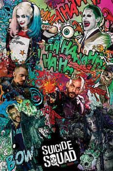 Suicide Squad - Crazy плакат