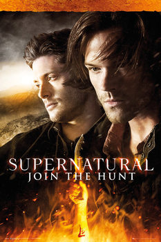 Supernatural - Fire плакат