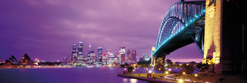 Sydney harbour плакат