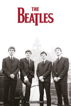 The Beatles - Liverpool 1962 плакат