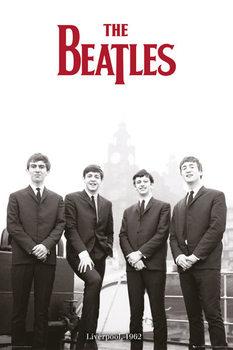 The Beatles - Liverpool 1962 - плакат