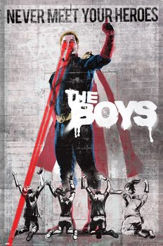 The Boys - Never Meet Your Heroes плакат